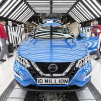 Nissan celebrates its ten millionth vechile produced in Sunderland
