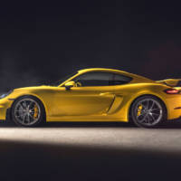 Porsche unveiled the 718 Cayman GT4 and 718 Spyder GT4