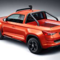 Skoda Mountiaq is a one-off pickup truck based on Kodiaq SUV