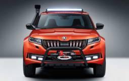 Skoda Mountiaq is a one-off pickup truck based on Kodiaq SUV