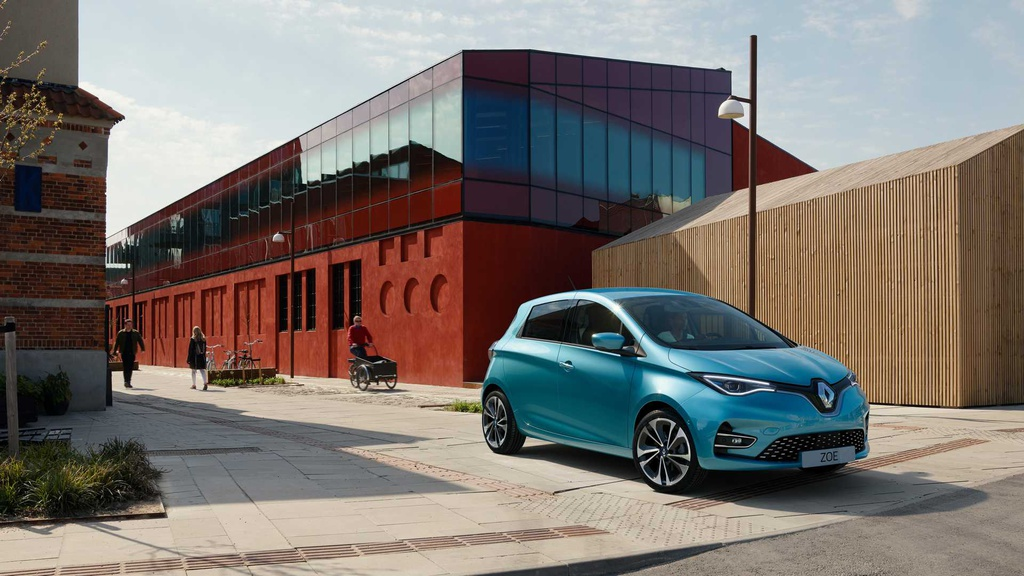 This is the new Renault Zoe