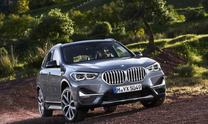 2020 BMW X1 facelift introduced