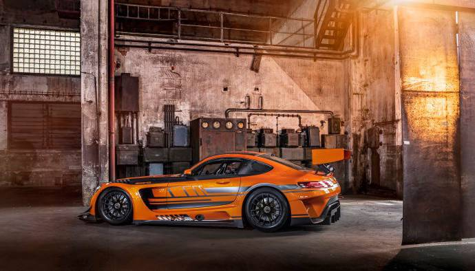 Mercedes-AMG GT3 unveiled with some updates