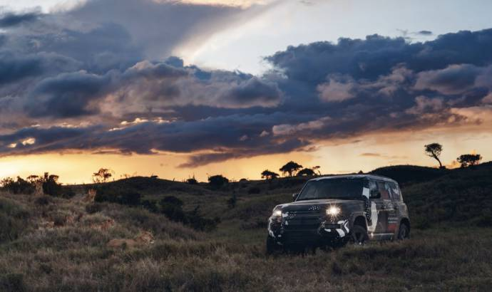 New Land Rover Defender completes some new testing in Kenya