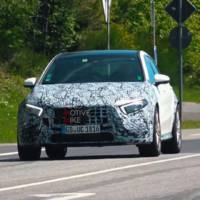 Video: Mercedes-AMG A45 spied again around the Nurburgring