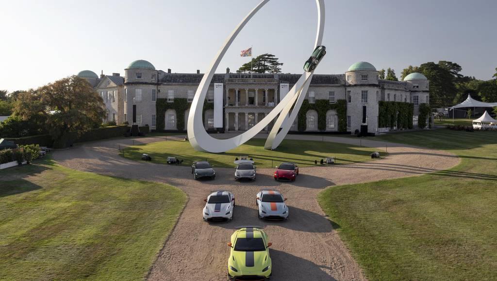 Aston Martin motorsport heritage celebrated at Goodwood