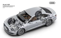 Audi A8 is available with predictive suspension