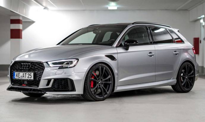 Audi RS3 Sportback modified by ABT deliver 464 HP
