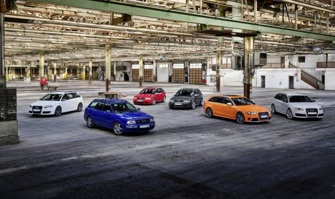 Audi celebrates 25 years since the launch of the RS division