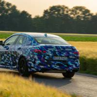 BMW has published new camouflage pictures with the 2020 2 Series Gran Coupe