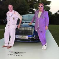 Bentley Flying Spur raised 700.000 for Elton John foundation