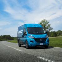 Fiat Ducato Electric showcased for the first time
