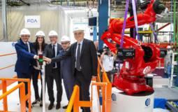 Fiat Mirafiori plant celebrates 80 years anniversary