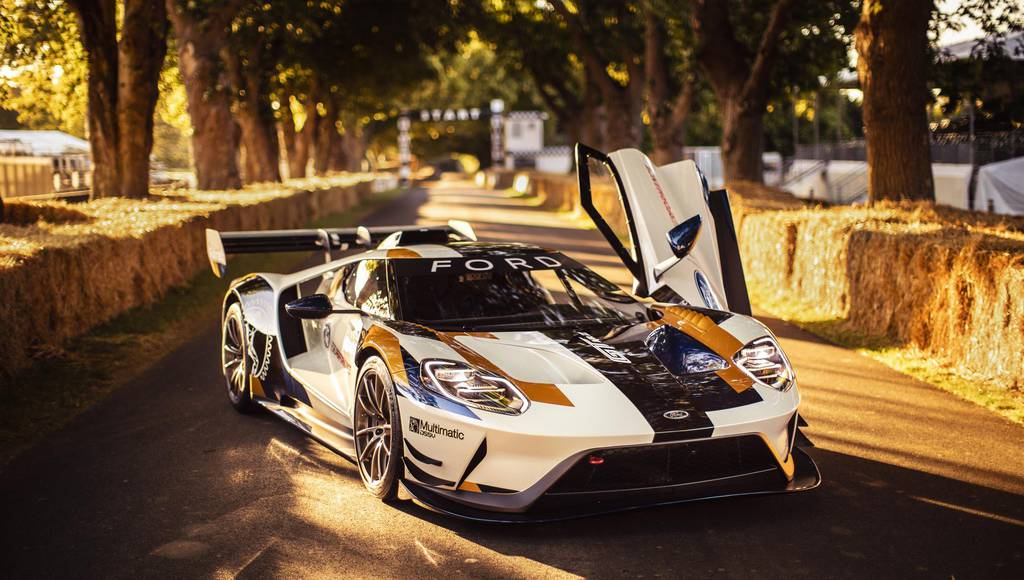 Ford GT Mark II introduced at Goodwood