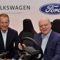 Ford and Volkswagen expands its partnership