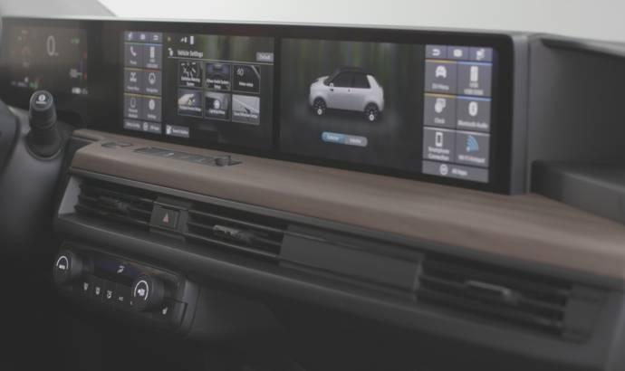 Honda e electric model has 5 screens inside the cabin