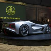 Lotus Evija was officially unveiled