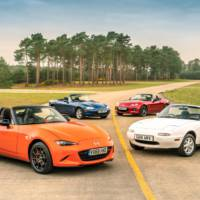 Mazda MX-5 30th Anniversary Edition available in UK