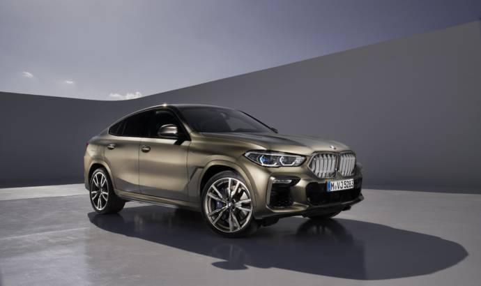 New generation BMW X6 unveiled