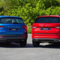 Skoda unveiled the 2020 Karoq and 2020 Kodiaq SUVs