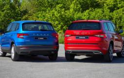 Skoda unveiled the 2020 Karoq and 2020 Kodiaq SUVs