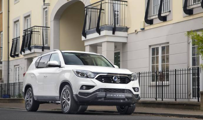 Ssangyong Rexton Ice available in UK