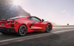 This is the 2020 Chevrolet C8 Corvette Stingray