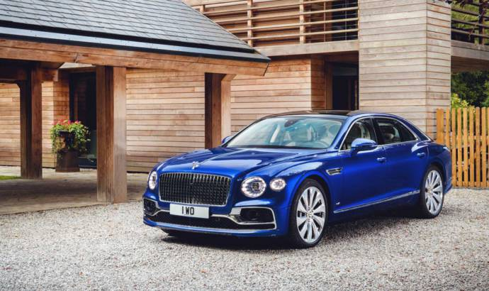 This is the new Bentley Flying Spur First Edition