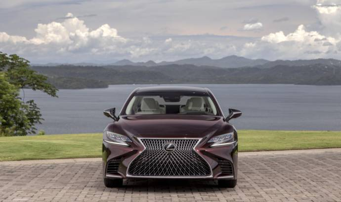 2020 Lexus LS500 Inspiration unveiled
