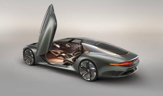 Bentley EXP 100 GT concept unveiled