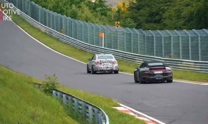 Video: The upcoming 2020 BMW M3 was caught around the Nurburgring