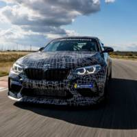 BMW teased a track version of the current M2 Competition