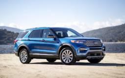 Ford Explorer Limited Hybrid range details