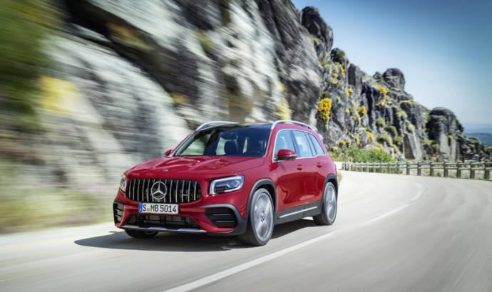 Mercedes-AMG GLB35 officially launched