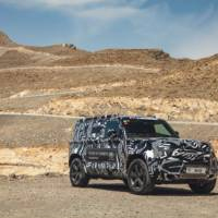 New pictures with the upcoming 2020 Land Rover Defender