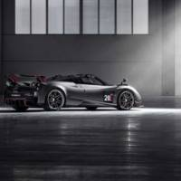Pagani unveiled the Huayra Roadster BC