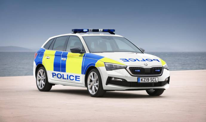Skoda Scala available for police forces