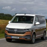 This is the 2020 Volkswagen California T6.1 camper