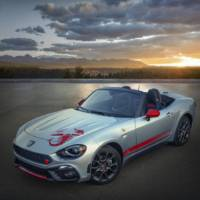 Abarth 124 Spider available with new graphics