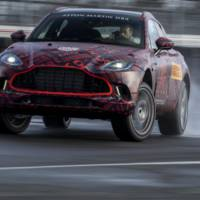 Aston Martin DBX enters final testing