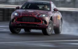 Aston Martin DBX enters final testing