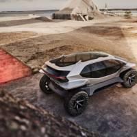 Audi unveiled the 2019 AI Trail quattro concept car