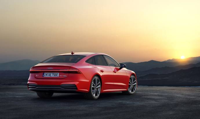 Audi unveiled the all-new 2020 A7 Sportback plug-in hybrid