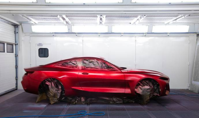 BMW unveiled the all-new Concept 4, the prototype that previews the upcoming 4 Series