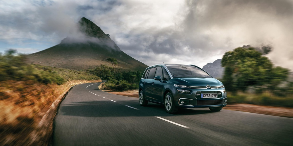 Citroen Grand C4 SpaceTourer gets updated in UK