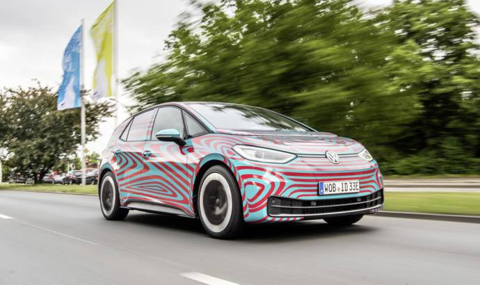 New details about the upcoming Volkswagen ID 3 electric hatchback