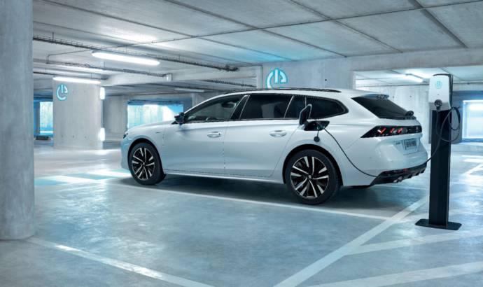 Peugeot 508 Hybrid and 508 SW Hybrid unveiled