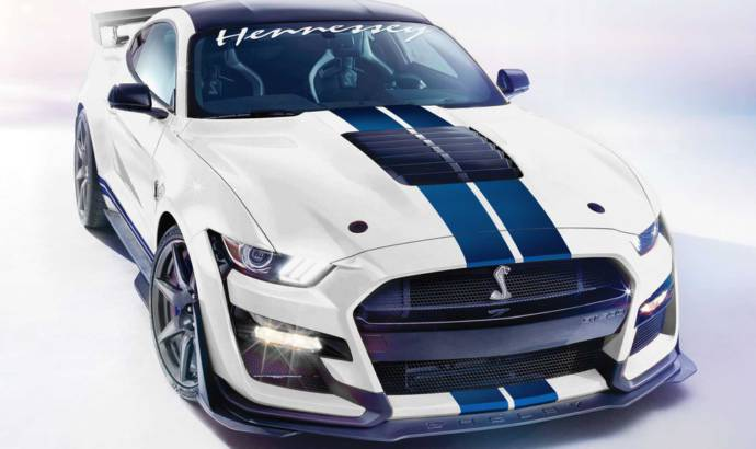 The new Shelby GT500 can deliver 1200 HP thanks to Hennessey