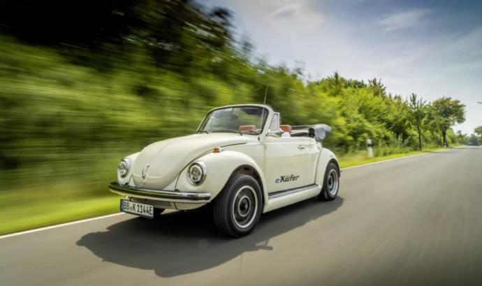 Volkswagen eBeetle is an electric classic