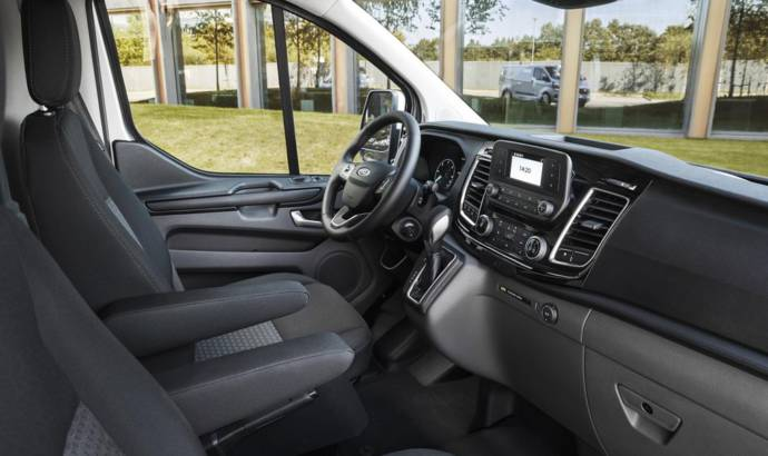 Ford Transit Custom Plug-In Hybrid UK pricing announced